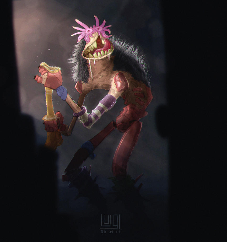 Sock Monster by Iklungs