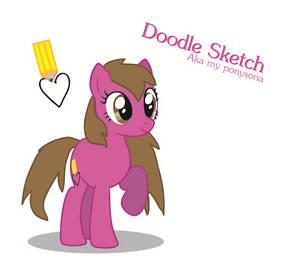 Doodle Sketch (New Ponysona!)