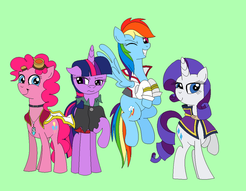 Counterpart Ponies by ArtGuruSauce