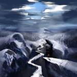 Ice Mountain [SPEEDPAINT IN DESC]