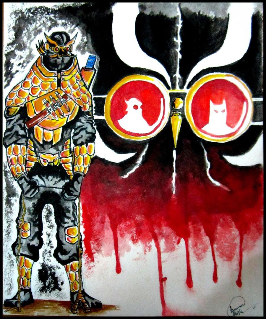 TALON from BATMAN City of Owls by neuronboy42