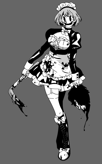 The Deadly Masked Maid by DrudgeIsSaw