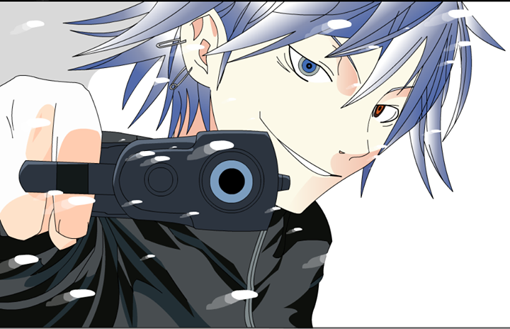 Hayato Inui (Redrawn and Colored) by DrudgeIsSaw