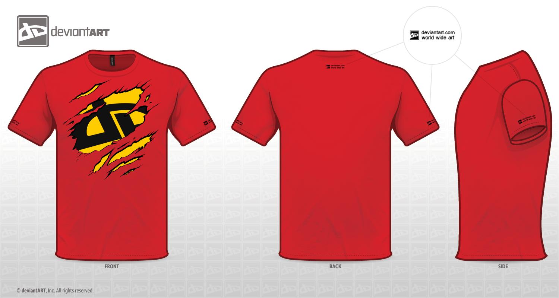 Design t shirts logo -  Torn T Shirt Da Logo Var 4 By Mordraug