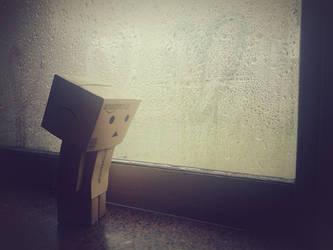 Danbo triste de amor by gonzalomoya