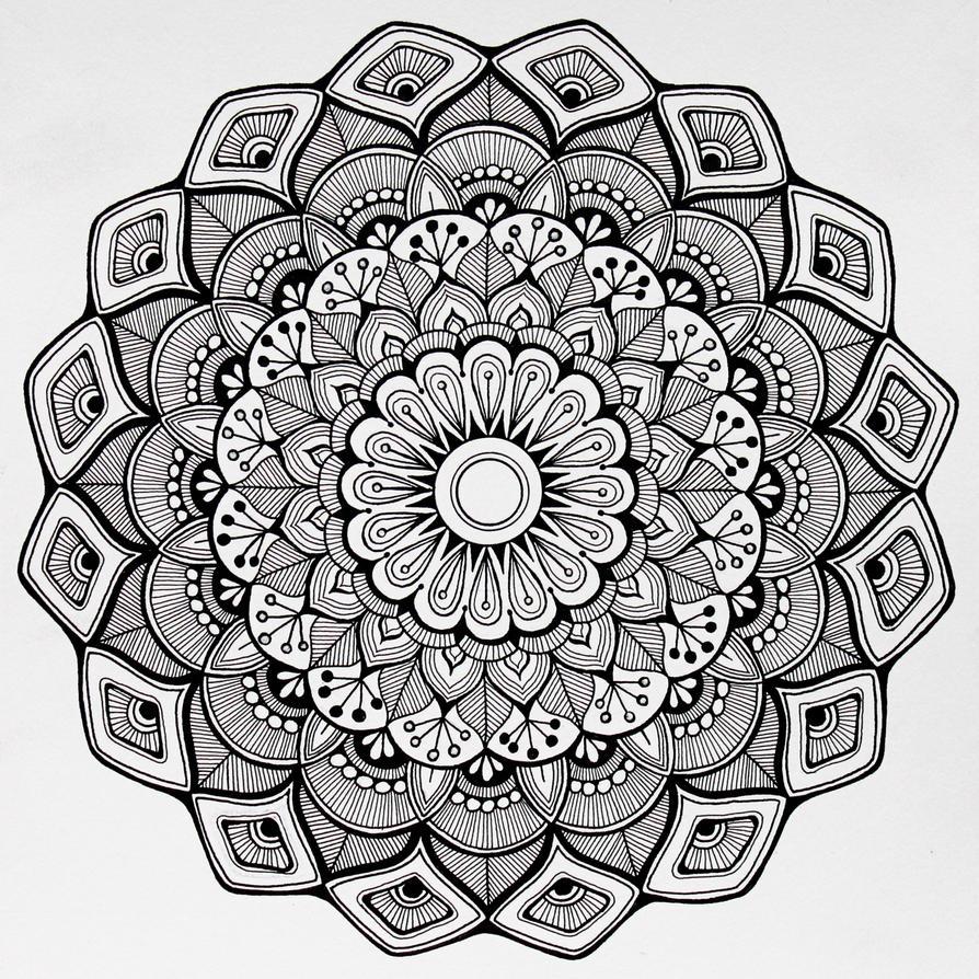 Mandala by acwaltz