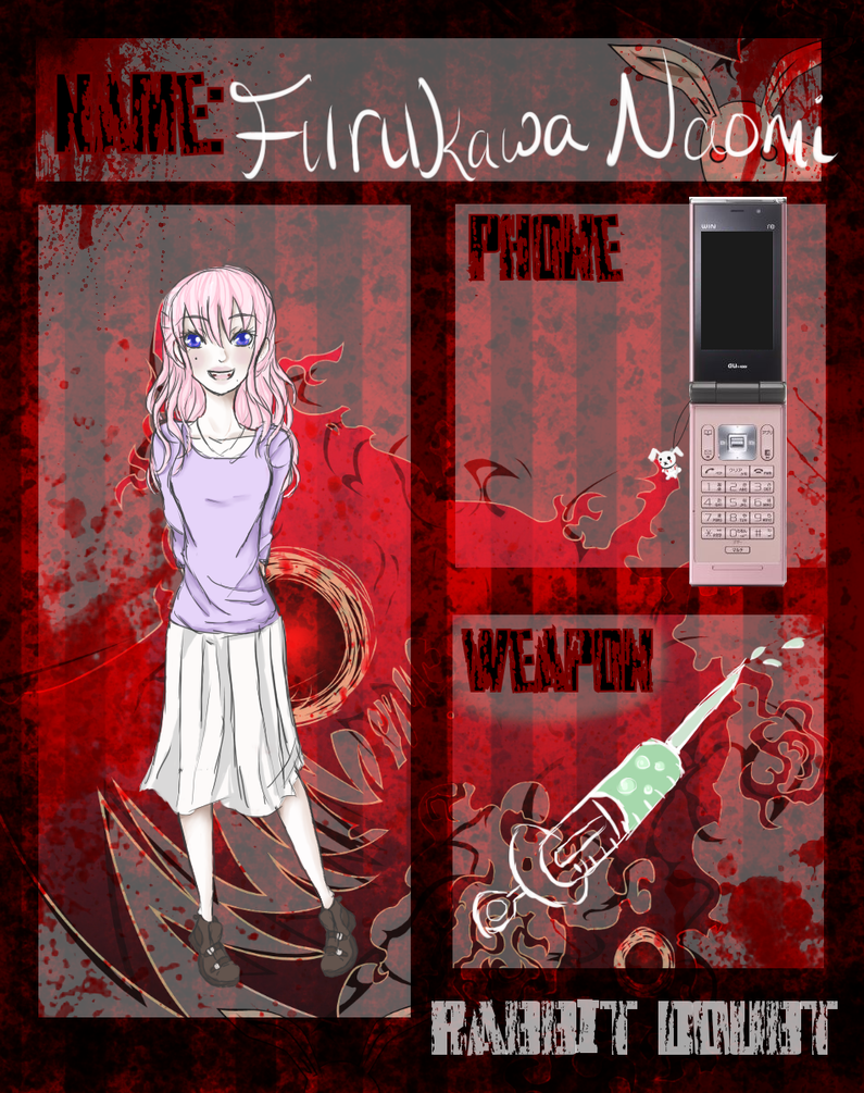 Rabbit Doubt: Furukawa Naomi (updated) by yukicaster