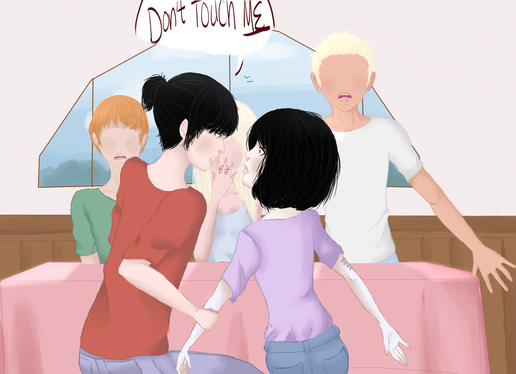DON'T TOUCH ME by yukicaster