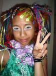 Peace by androgyny-stock