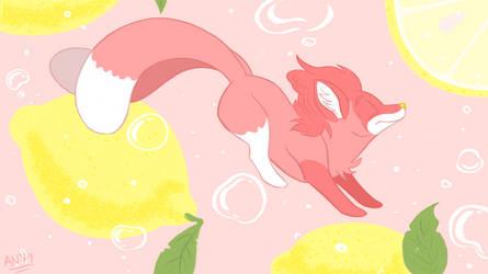 Weekly Sketch #7: Pink Lemonade by Almy-Nol