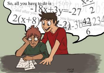 Weekly Sketch #10: Algebra by Almy-Nol