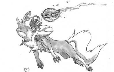 Weekly Sketch# 13: Fetch by Almy-Nol