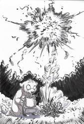 Inktober 16: Rocket