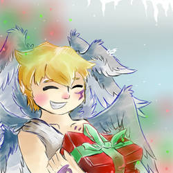 Happy holidays from Lucemon