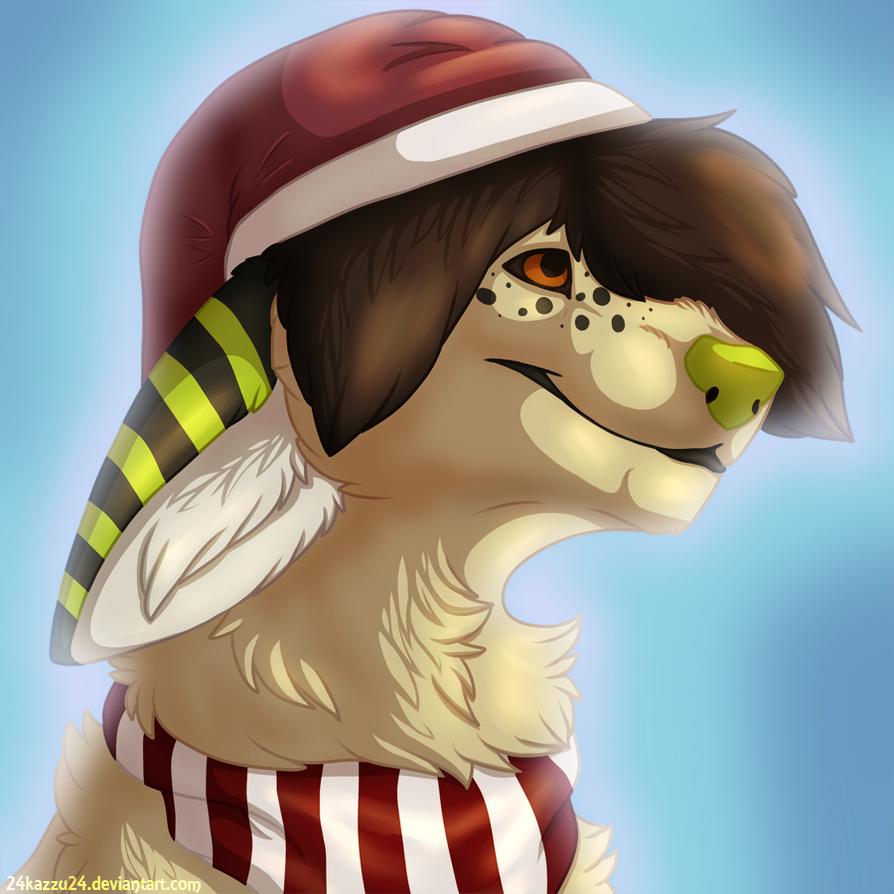 Christmassy Kaori by 24Kazzu24