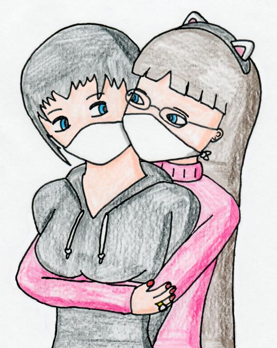 Gagged Hugging