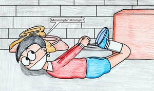 Nobita Hog-Tied