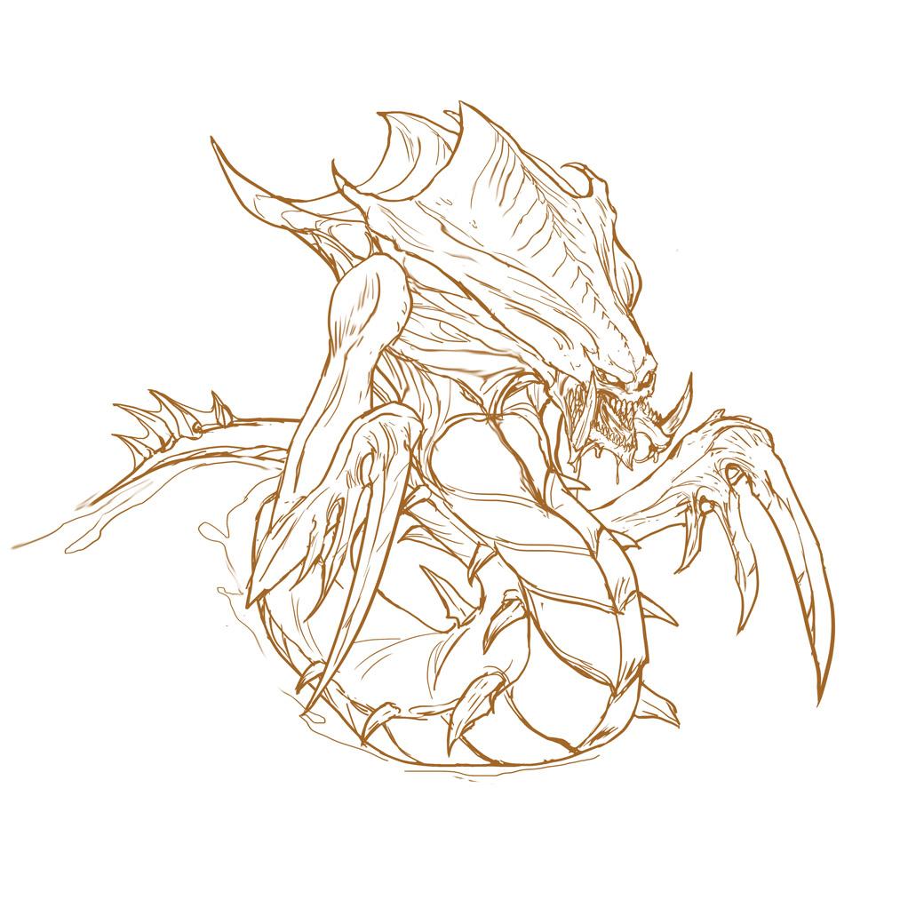 Zerg Hydralisk by rubendevela