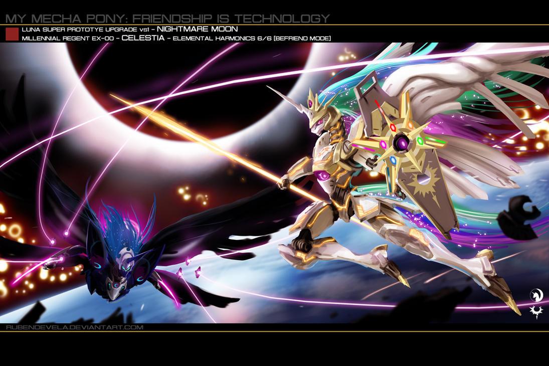 princess celestia vs nightmare - photo #41