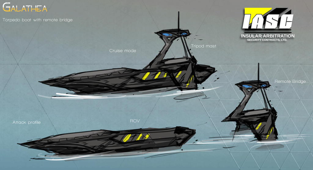 Torpedo boat quick concept by rubendevela