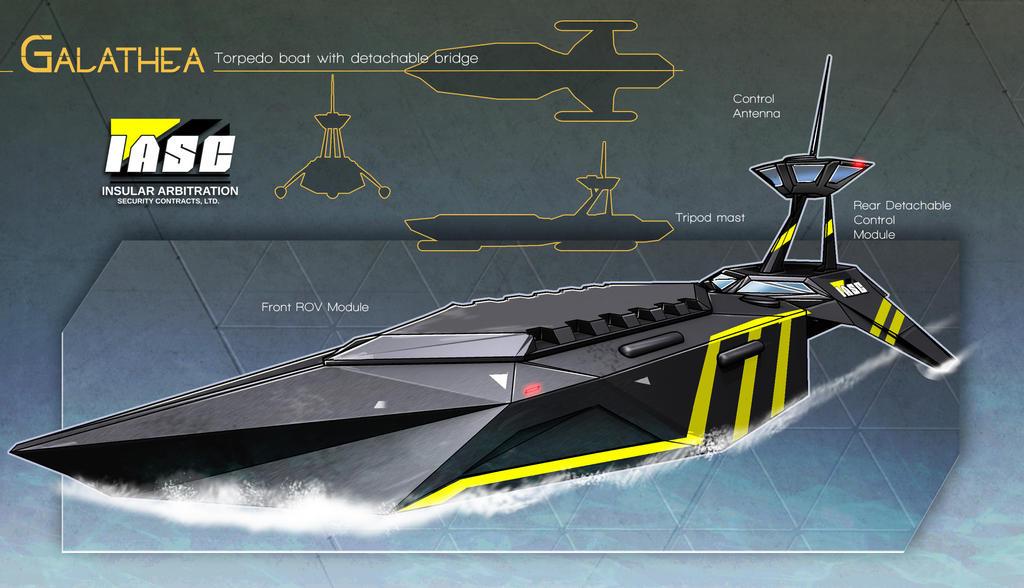 IASC Torpedo boat by rubendevela