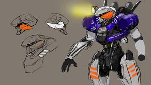 humanoid drone redo by rubendevela