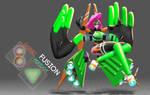 A Garnet + Peridot Fusion