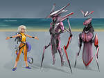 Silver Lining - 3 character designs