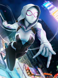 I'm Gwen Stacy! (Masked Version) by rubendevela