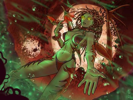 The Queen of Blades: ZERGKINI