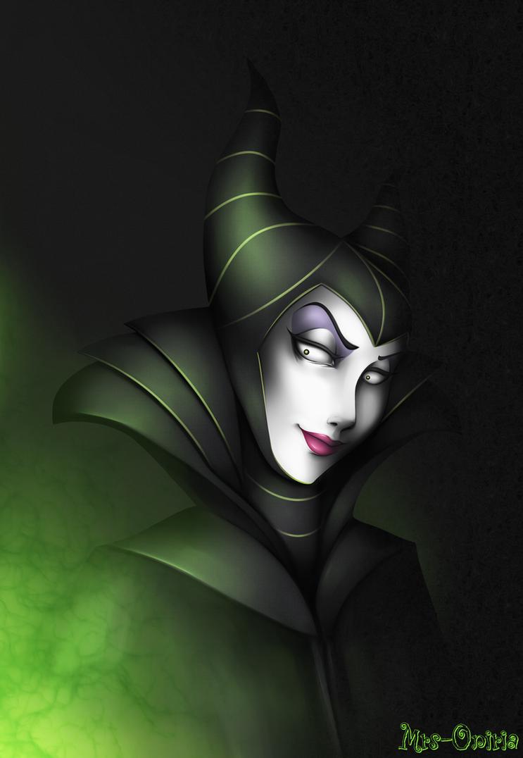 Maleficent by Mrs-Oniria