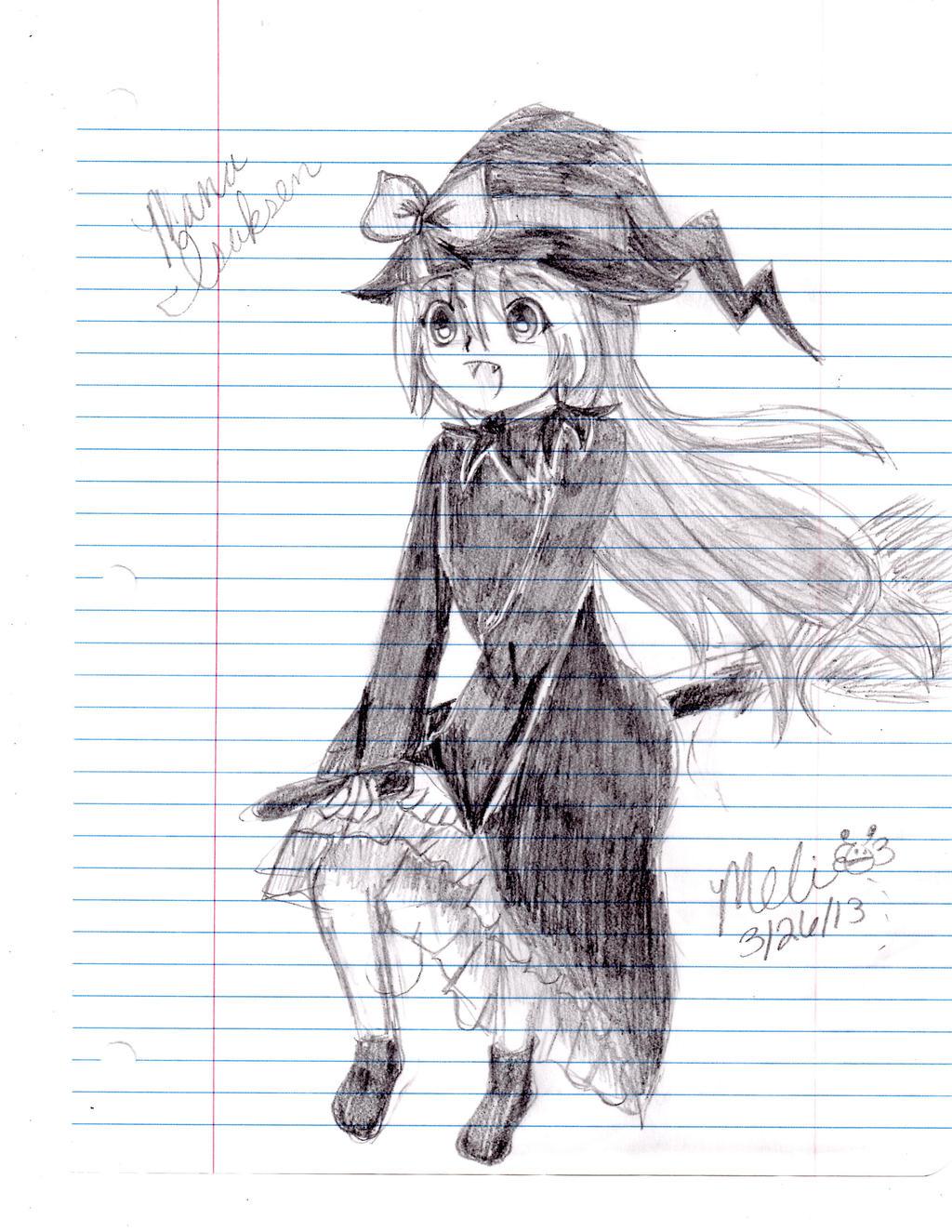 Nana the Little Witch by MitsukiChan313
