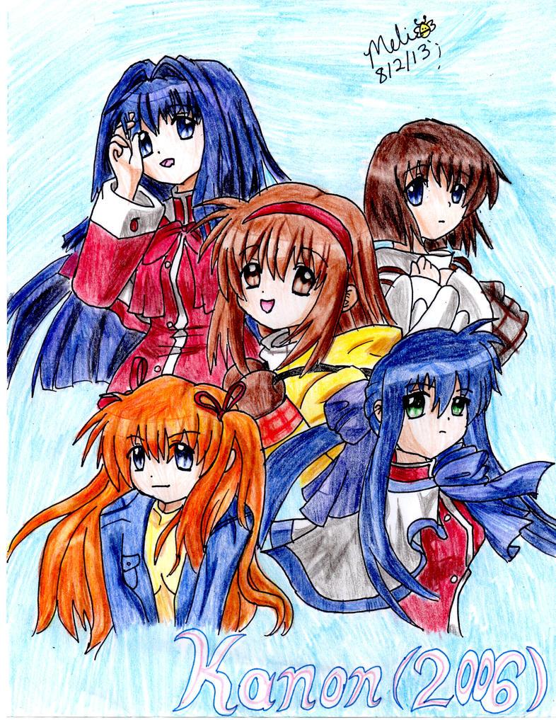 Kanon (2006) Fanart by MitsukiChan313