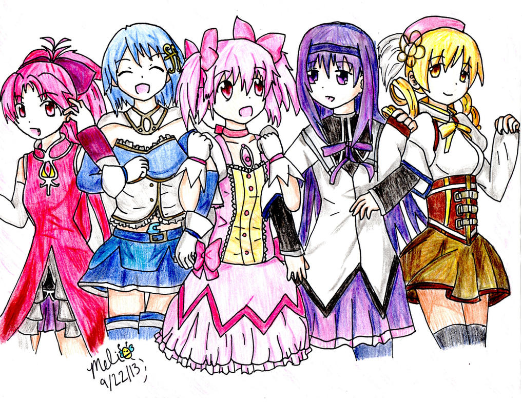 Puella Magi Madoka Magica Fan Art by MitsukiChan313