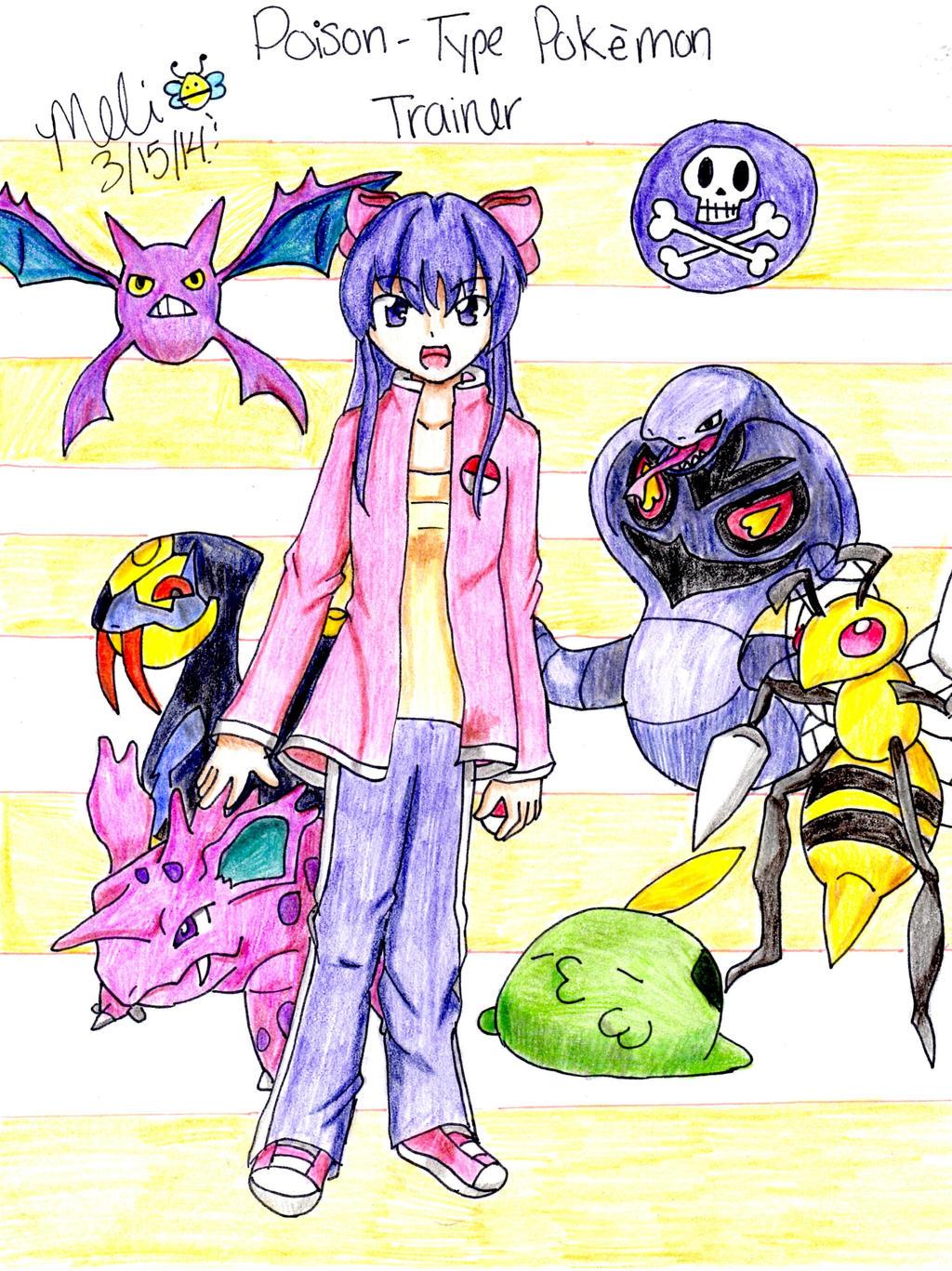 Uncategorized Poison Type poison type pokemon trainer by mitsukichan313 on deviantart mitsukichan313