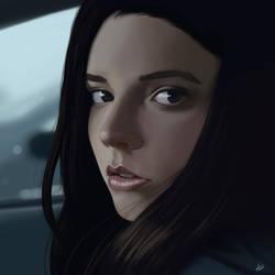 Casey Cooke (Anya Taylor-Joy) - Split by Jackal-Art