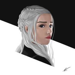 Daenerys Targaryen by Jackal-Art