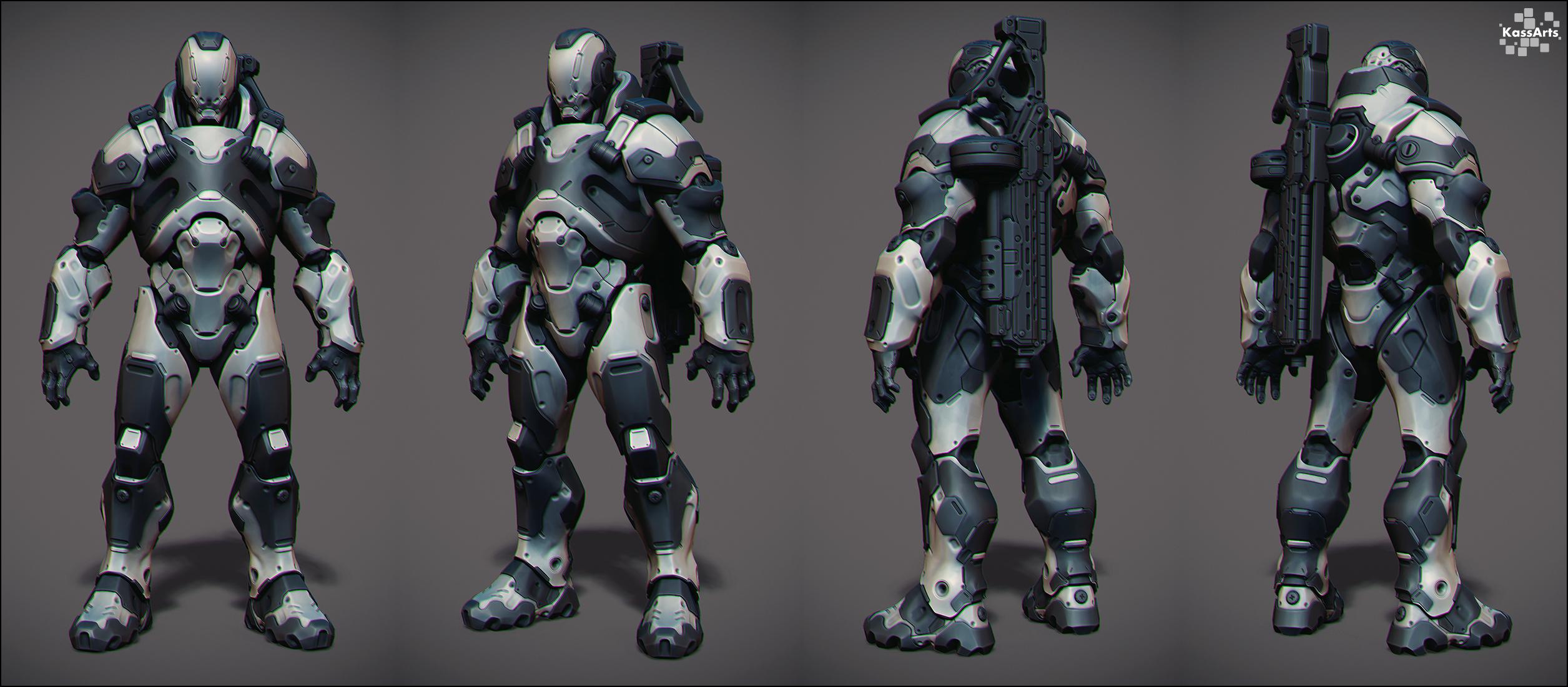 Merc Captain Concept by kassarts