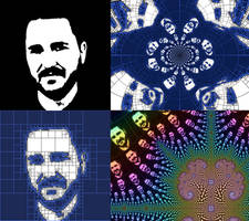 Wil Wheaton Fractal Variations