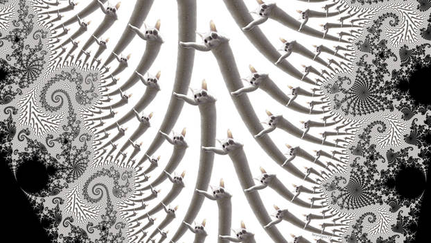 Fractal Long Cat by bryceguy72