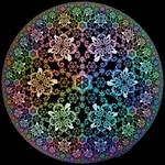 Hyperbolic Snowflakes