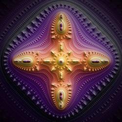 Mandel Gears Cross by bryceguy72