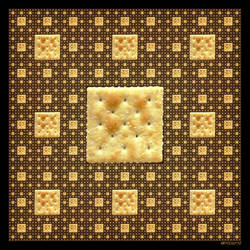 Fractal  Cracker Sierpinski Carpet