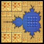 Mandel-Lego-Cracker-Brot