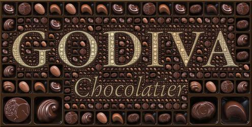 Godiva Fractal Chocolates