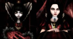Queens of Wonderland by jagged66