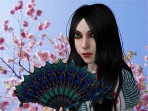 Aqua Blossom