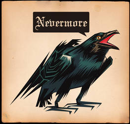 NEVERMORE by MY-METAL-HAND