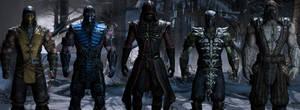 Mortal Kombat X - The Ninjas