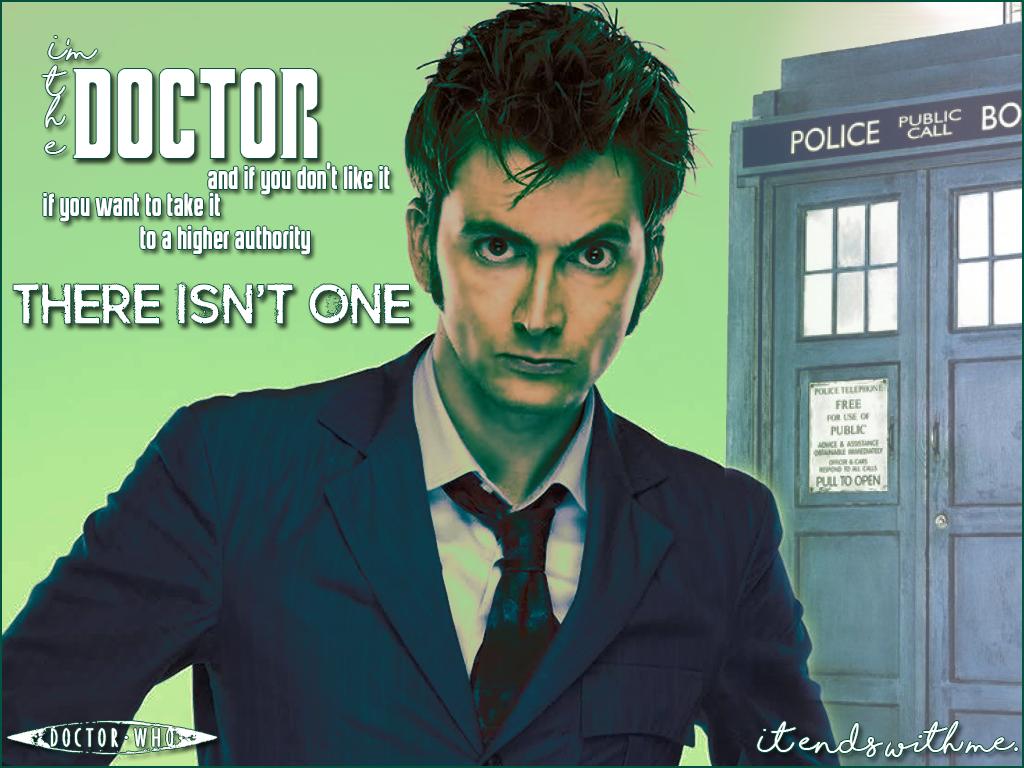 I'm the Doctor. by JenerallyArtsy